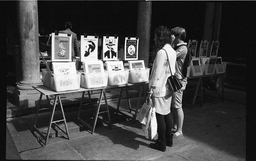 photographier la lumière - pellicule noir et blanc argentique Lille