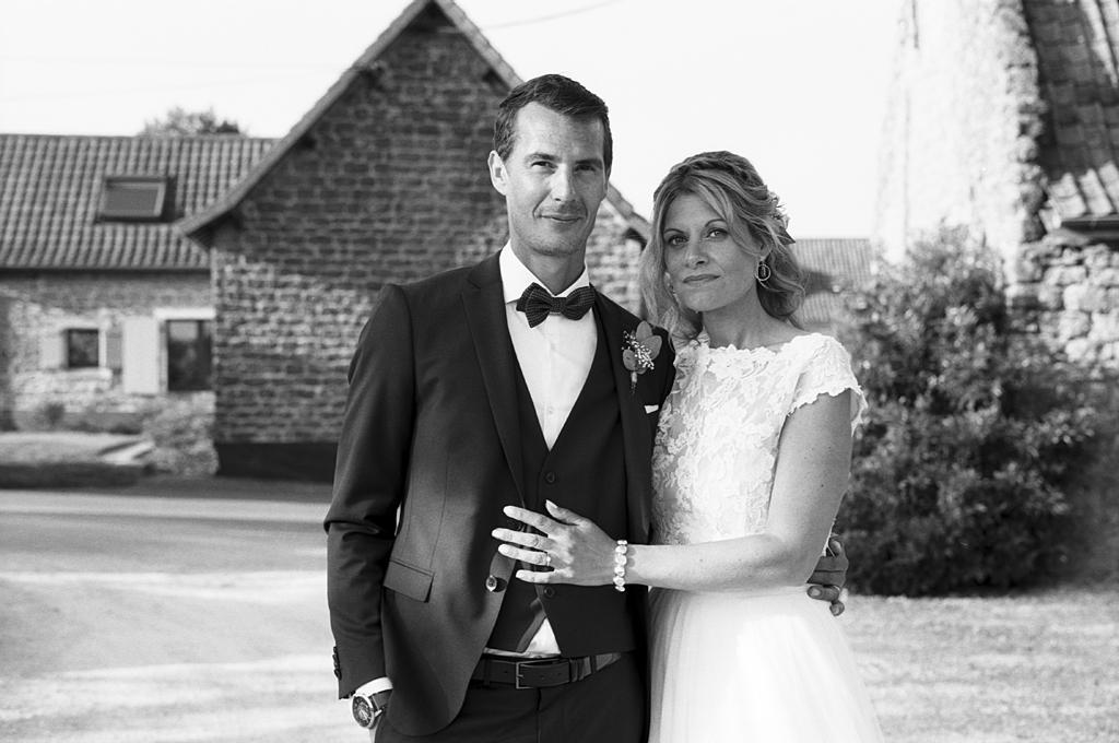 Mariage à Boulogne sur Mer en argentique