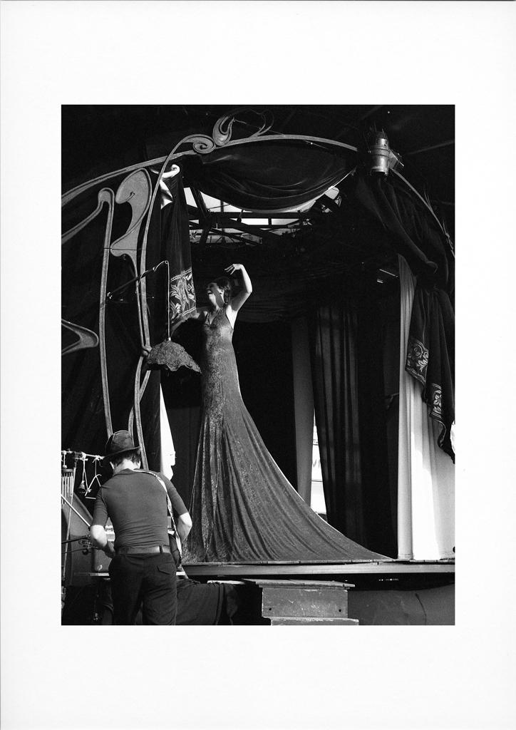 photographies du Nord 144 - noir et blanc argentique tirage - sur scène