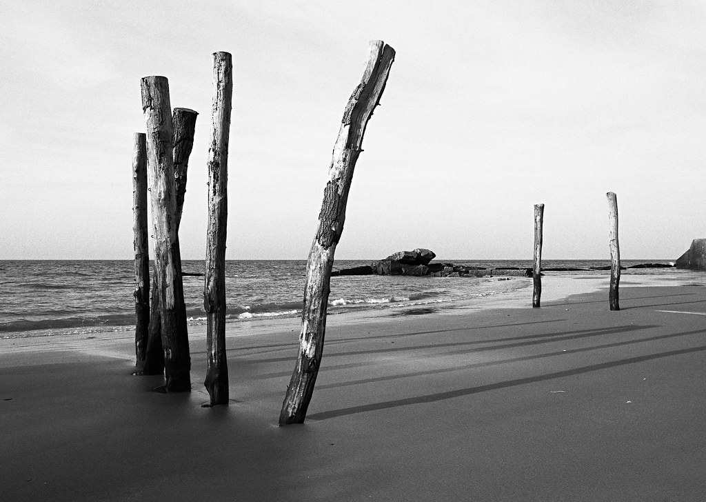 Photographie noir et blanc plages du Nord vente petits formats et grands formats