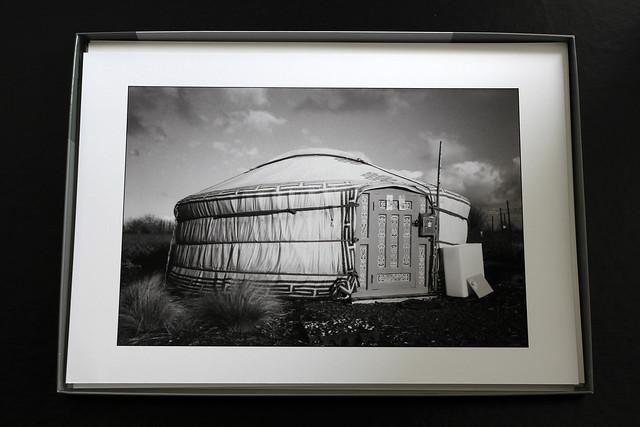 Noir et blanc cadre photo collectionneur