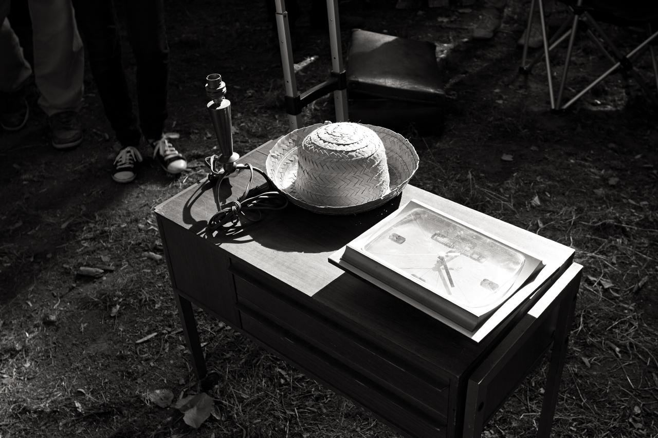 Photographie noir et blanc avec le 55OD