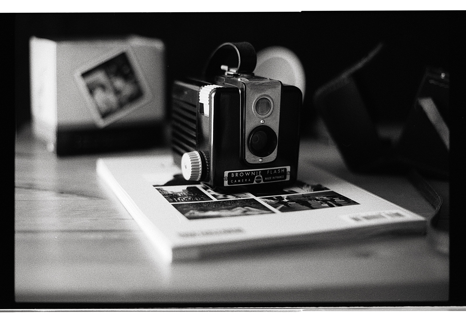 Brownie Flash pellicule Ilford FP4