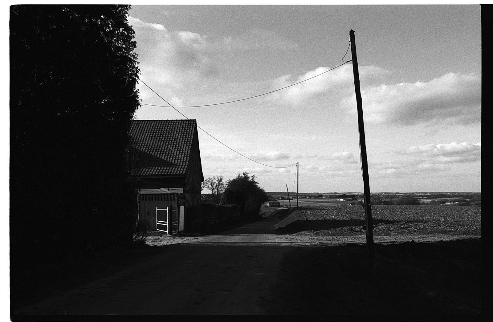 Photographies artistiques Nord et Flandre Belgique - tirage noir et blanc argentique