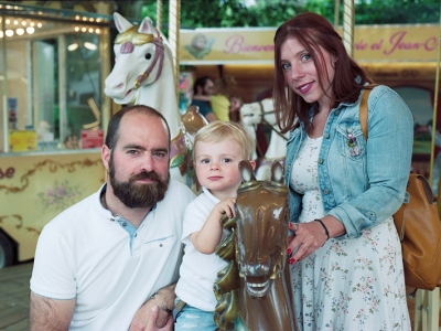 Photographe famille Kodak Portra