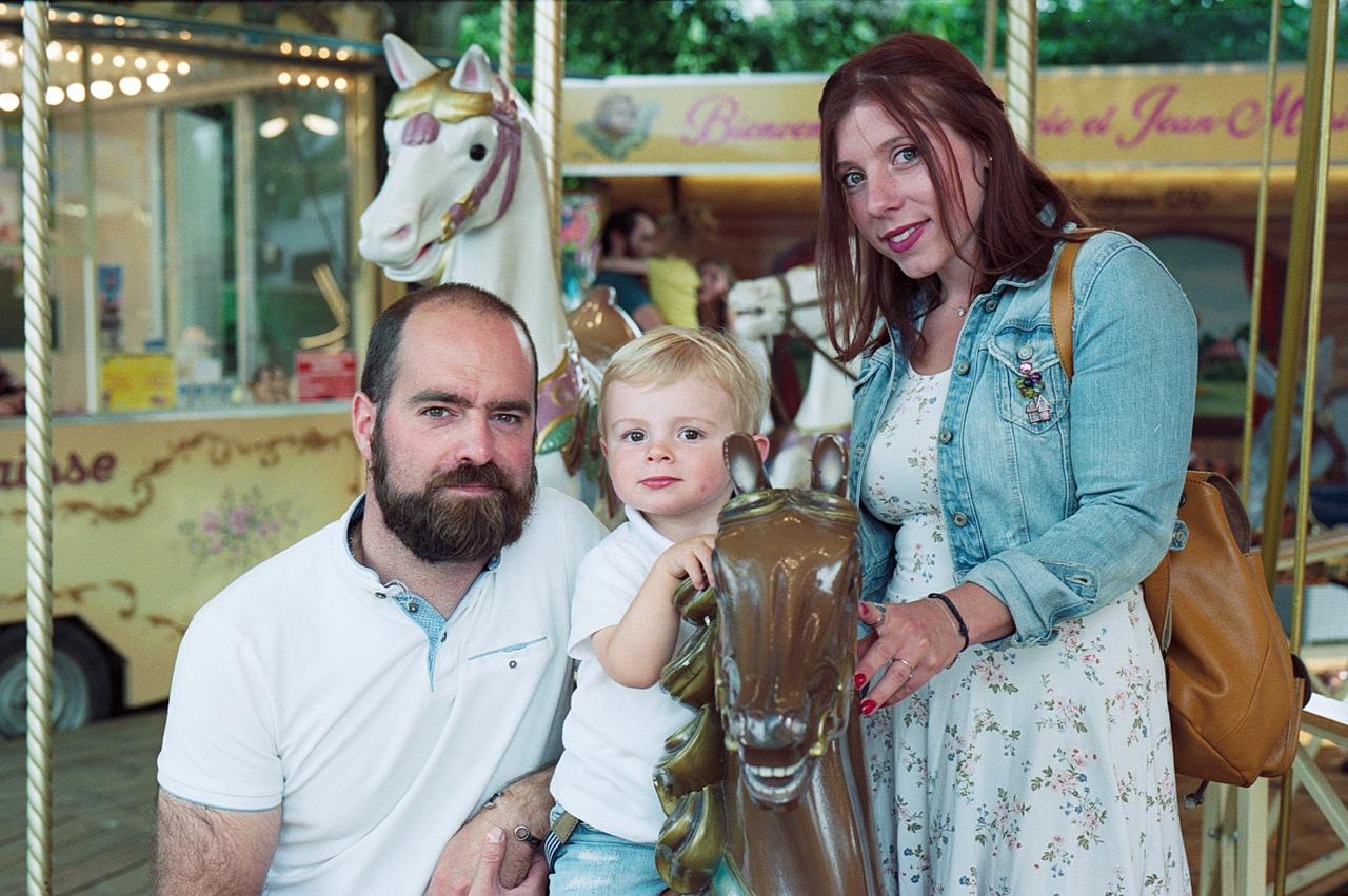 Kodak Portra portrait famille