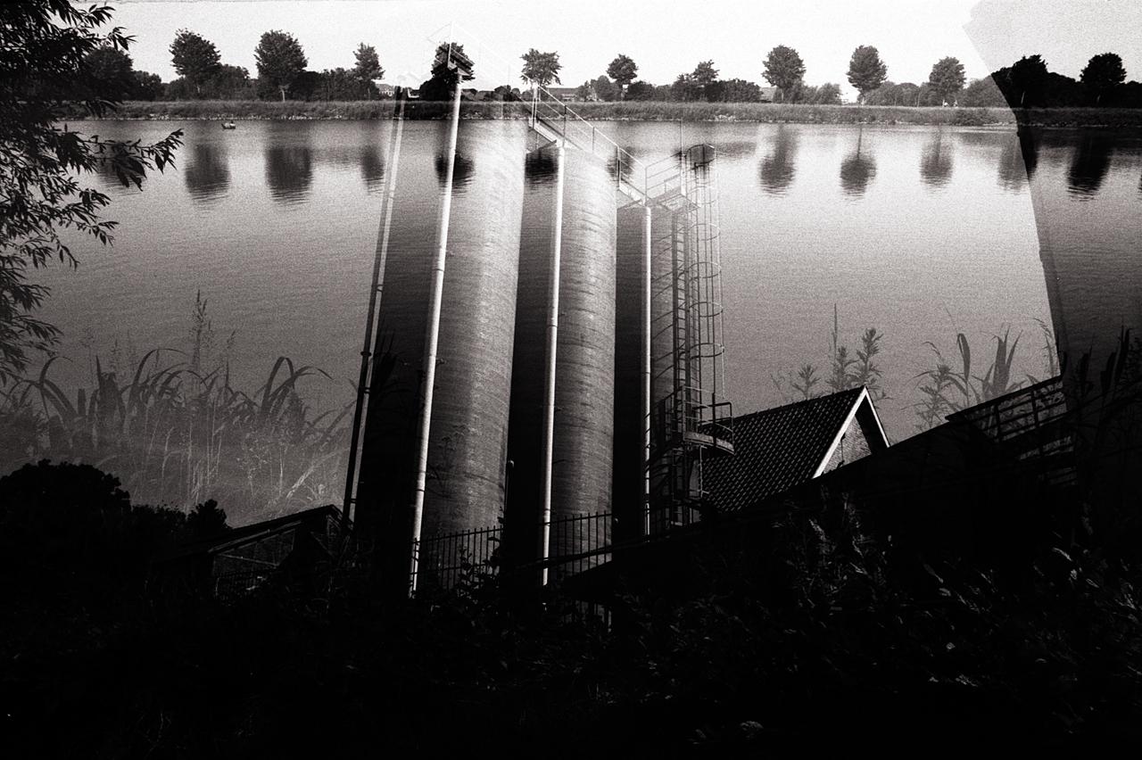 Double expo argentique pellicule Rollei Lille photographie argentique cours et exercices