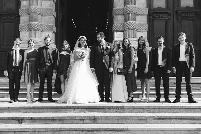 Portrait de groupe classique au 35 mm mairie de Tourcoing