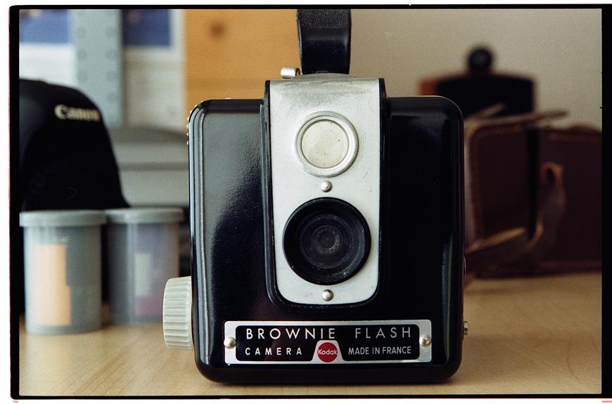 Proxi photo argentique Kodak pro Image 100 avec Canon EF 24-70 F4 L USM