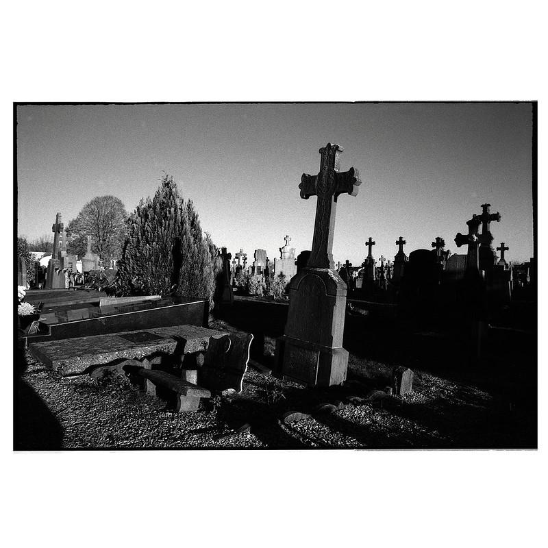 Noir et blanc argentique Kentmere et filtre orange 040