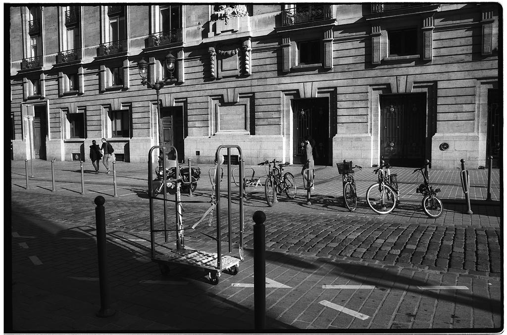 Kodak TMAX dans la rue