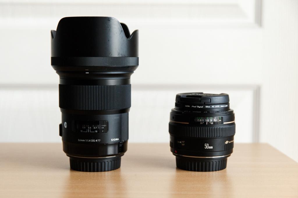 Avis Canon 50 mm F1.4 contre Sigma 50 mm ART