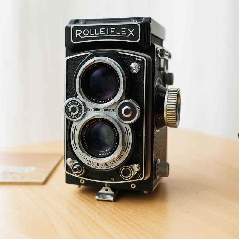 Rolleiflex Tessar 3.5 synchro compur 6X6 moyen format argentique photos de mariages et portraits